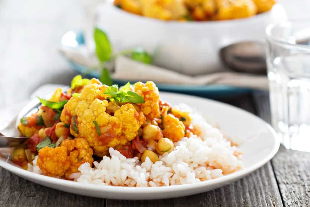 2 Brothers Packed Meals - Chickpea & Cauliflower Curry