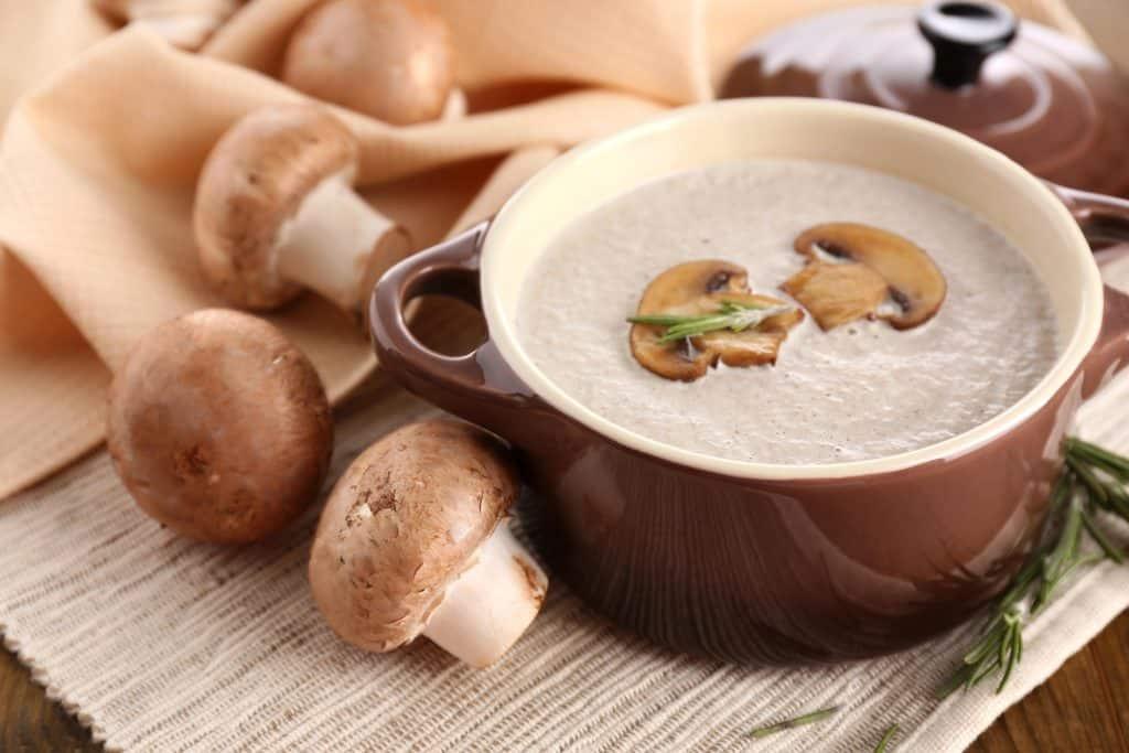 2 Brothers Packed Meals - Seasoned Mushroom Soup