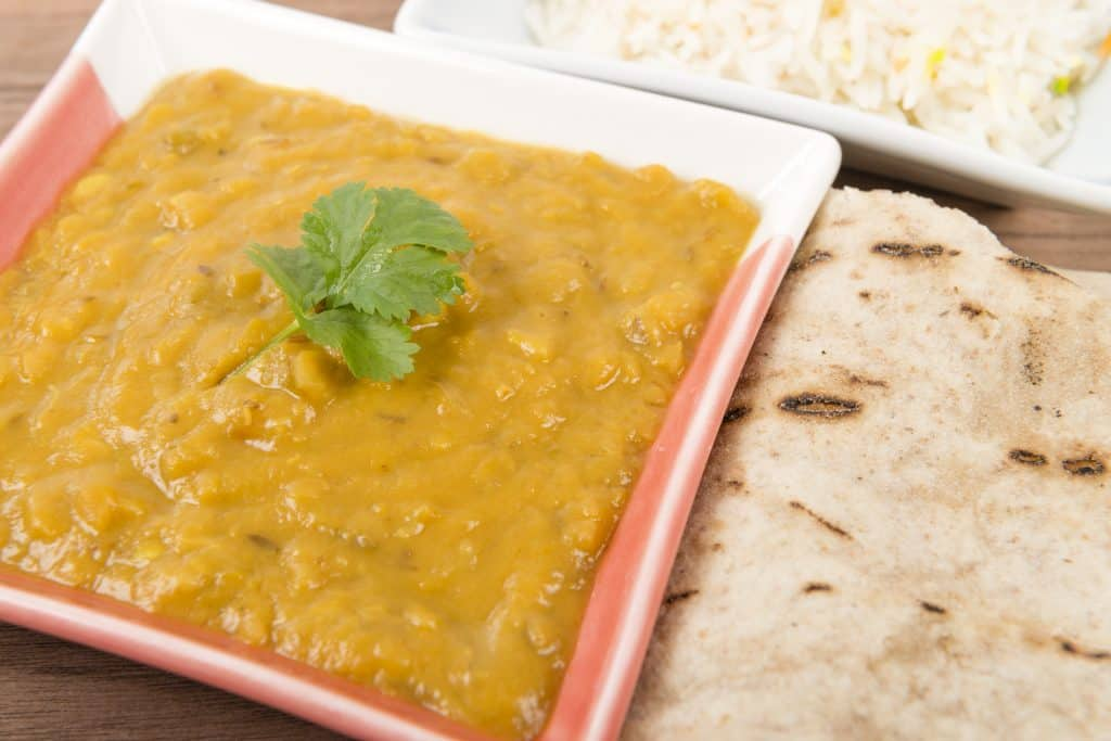 2 Brothers Packed Meals - Yellow Split Pea Dal with Watercress